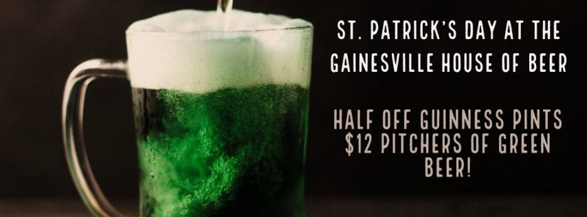 St. Patrick's Day at the HOB!