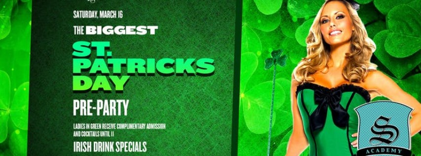 Myth's Official Pre St. Patrick's Day Party *Jax's Premier Saturday Night*