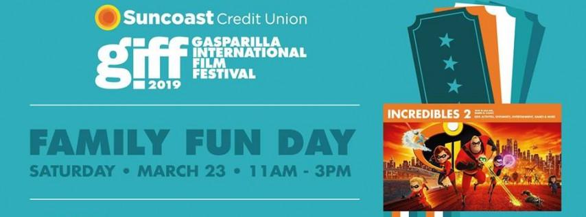 2019 Suncoast Credit Union GIFF Family Fun Day