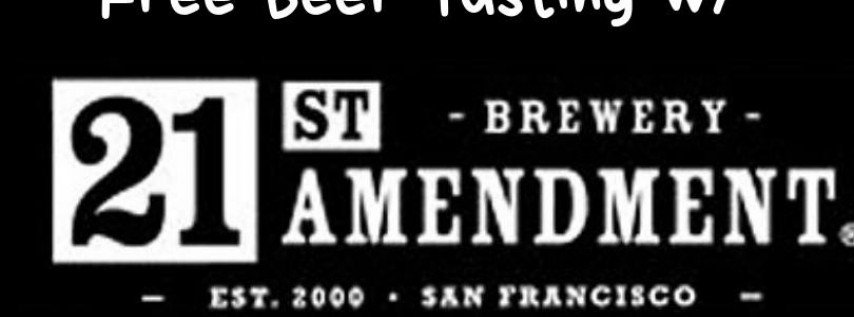 21st Amendment Free Tasting - KSM