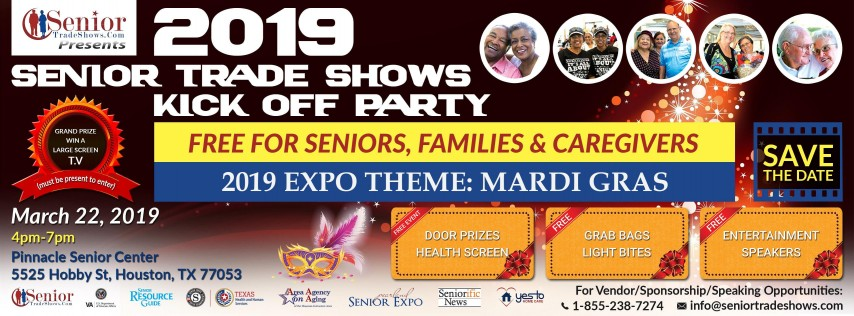 2019 Senior Trade Shows Kick off Party-Theme Mardi Gras