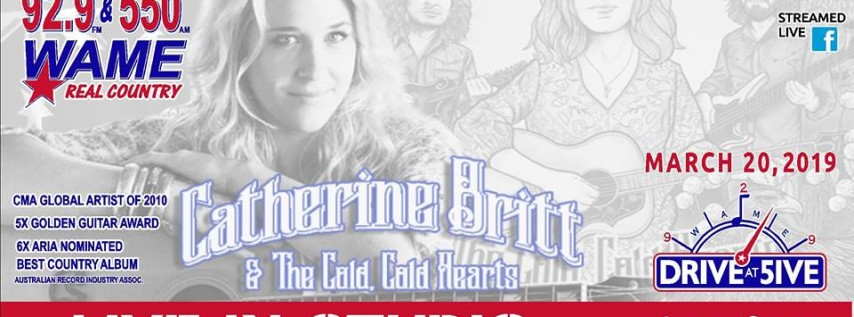 Catherine Britt on The Drive at Five