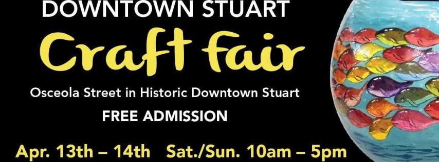 22nd Annual Downtown Stuart Craft Fair