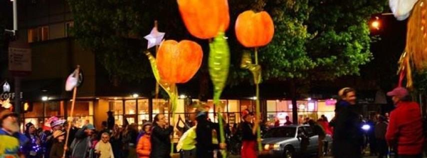 Arts in the Dark Lantern Procession in Millennium Park