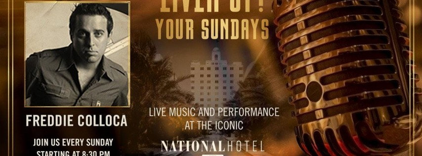 Sunday night LIVE music at The National Hotel