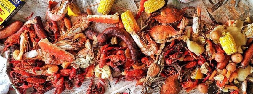 Seafood Boil with Soul Food Street Kitchen at 2pm