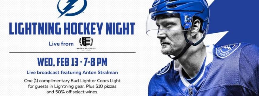 Lightning Hockey Night