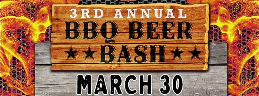 3rd Annual BBQ BEER BASH