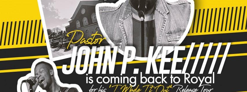 John P Kee LIVE in Charleston!