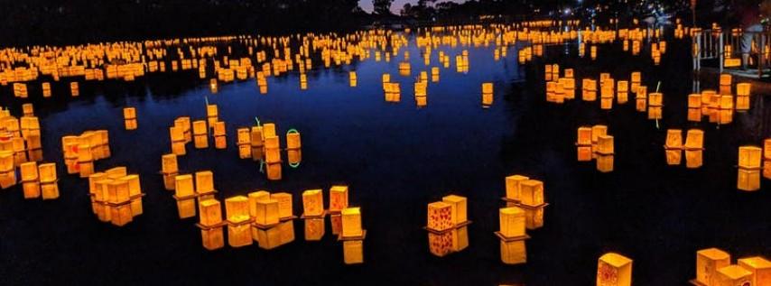 St. Petersburg, FL   1000 Lights Water Lantern Festival 2019
