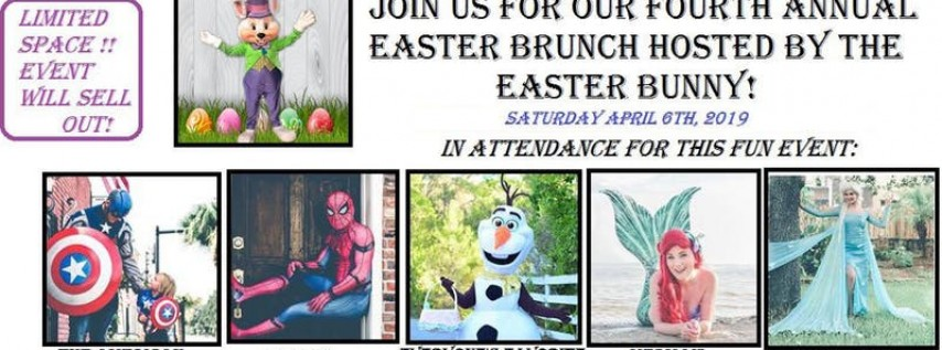 Easter Brunch with the Easter Bunny and Friends!
