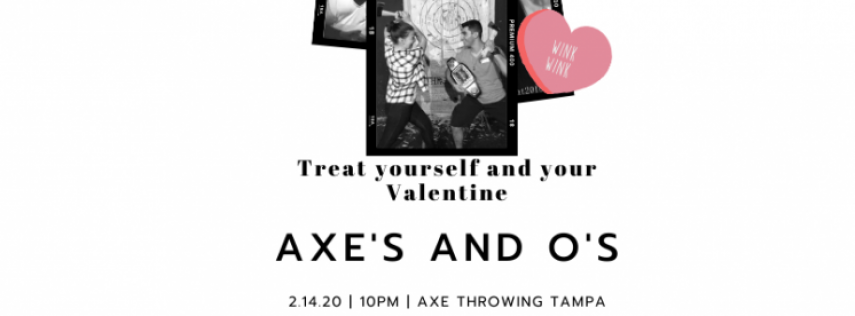 Axe's and O's Couples Glow Throw