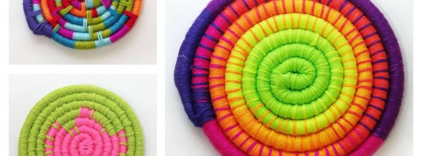 Adult Art Party: Coiled Basketry