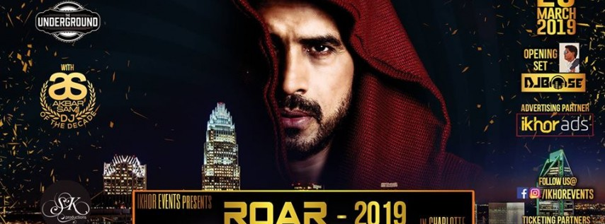 ROAR 2019 Bollywood DJ Night with legendary DJ Akbar Sami
