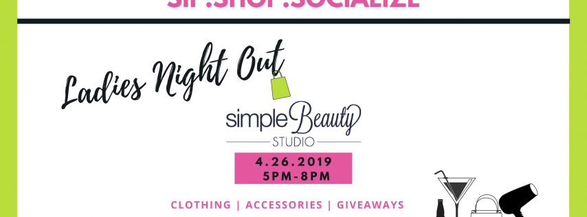 Sip.Shop.Socialize Simple Beauty Studio