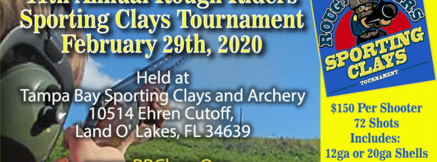 Rough Riders Sporting Clays Tournament