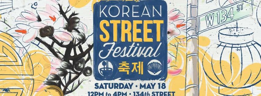 korean street festival  new york city ny - may 18  2019