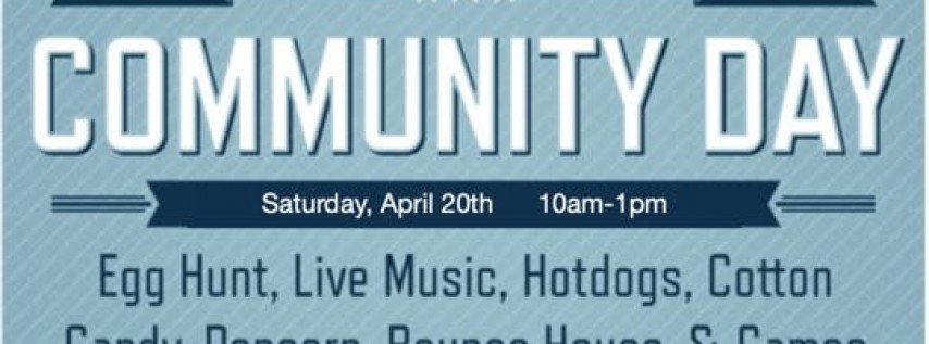 Easter Egg Hunt and Community Day