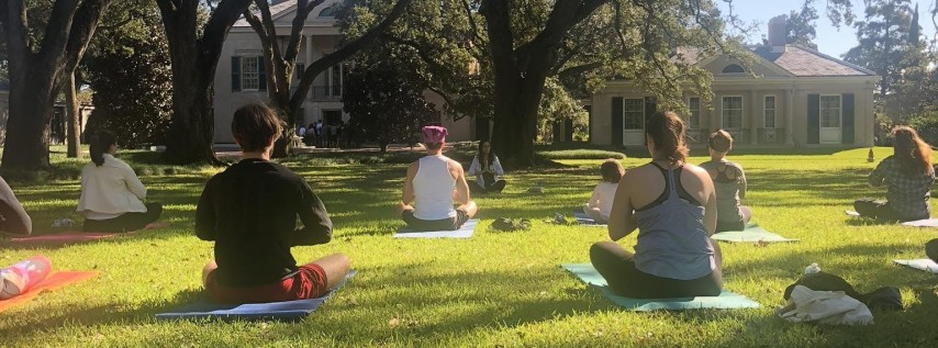July Yoga With A Vue