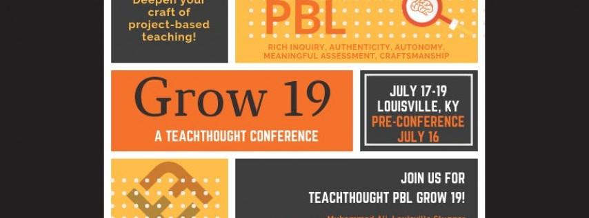TeachThought Grow 19
