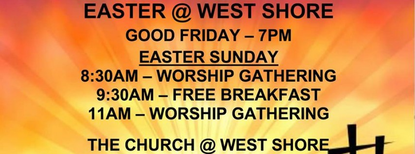 Easter Worship at West Shore