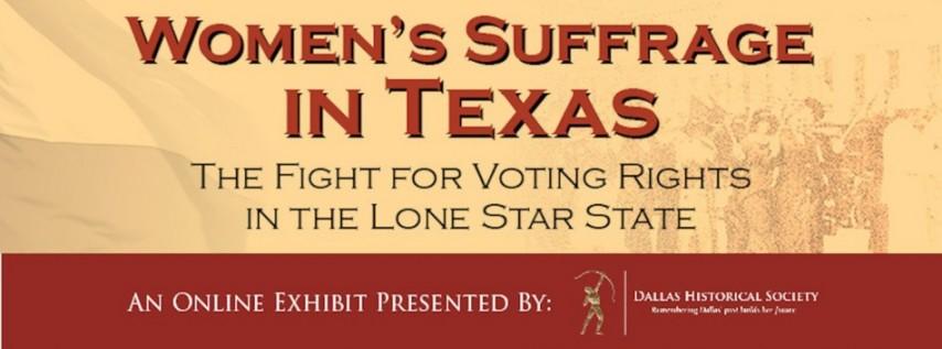 Online Exhibit - Women's Suffrage in Texas