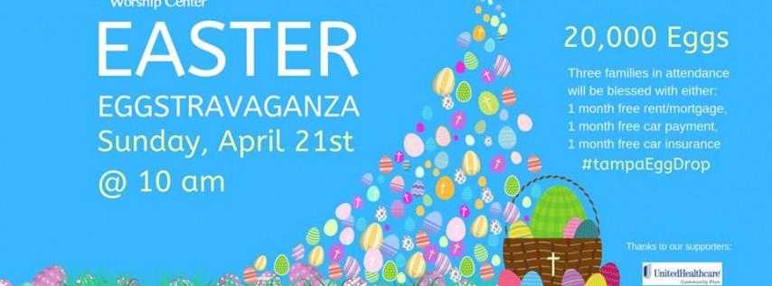 Easter Egg Drop - Easter Eggstravaganza 2019 Tampa FL