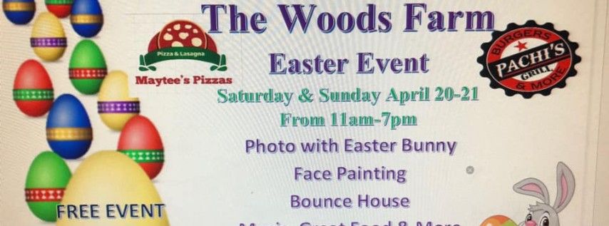 Easter Event @ The Woods Farm