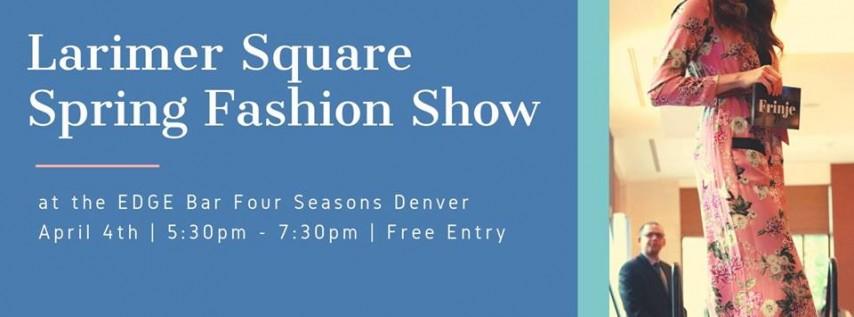 Larimer Square Spring Fashion Show