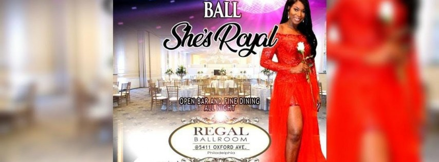 2ND Annual Mother's Day Ball: She's Royal