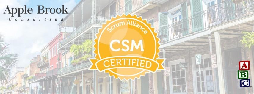 Certified ScrumMaster® (CSM) - New Orleans, LA - October 10-11