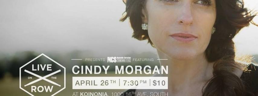 Cindy Morgan Live on the Row