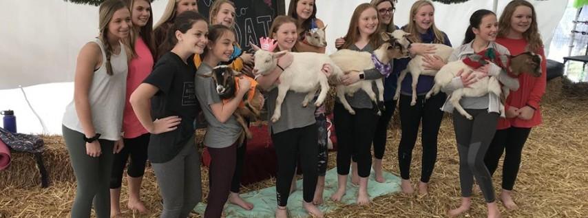 Goat Yoga Nashville- Easter Goat & Bunny Yoga