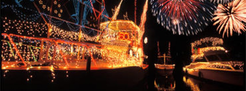 Annual Christmas On The Water Boat Parade