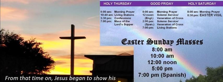 Triduum / Easter Sunday Masses