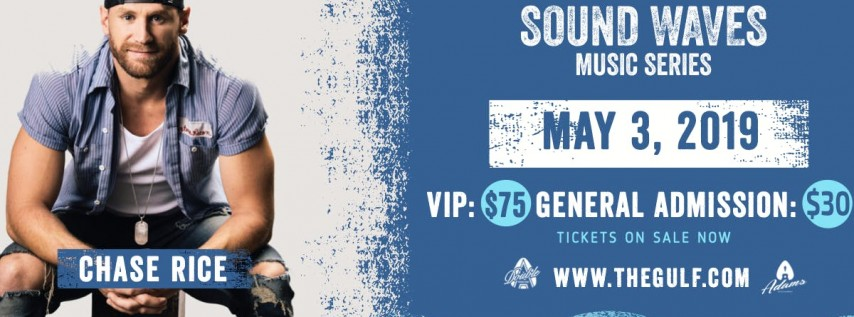 Sound Waves Music Series presents Chase Rice