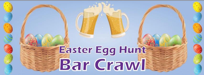 Wilmington Easter Egg Hunt Bar Crawl Downtown