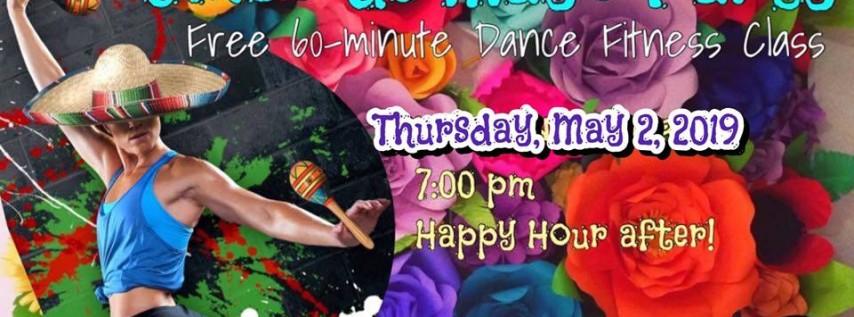 Free Cinco de Mayo Latin Glow Class & happy hour