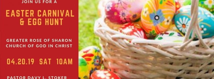 Easter Egg Hunt and Carnival 2019