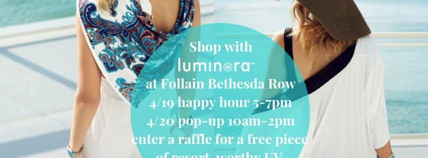 Clothing Pop-up with Luminora + Happy Hour
