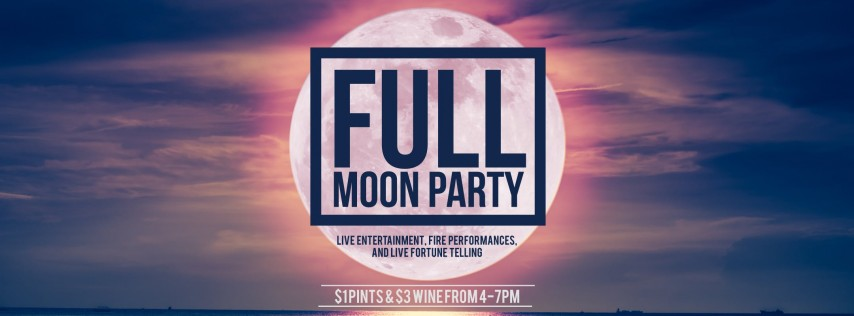Full Moon Party at Wharf Miami
