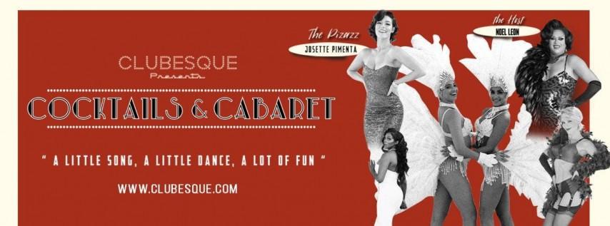 Clubesque presents: Cocktails & Cabaret