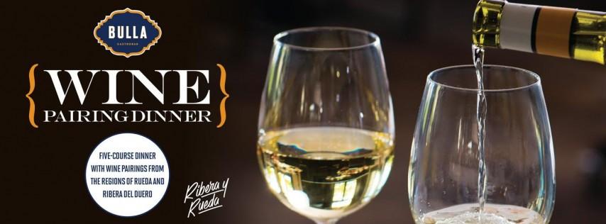 Ribera y Rueda Wine Dinner at Bulla Gastrobar