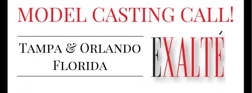 Exalte' Model Submission Casting!