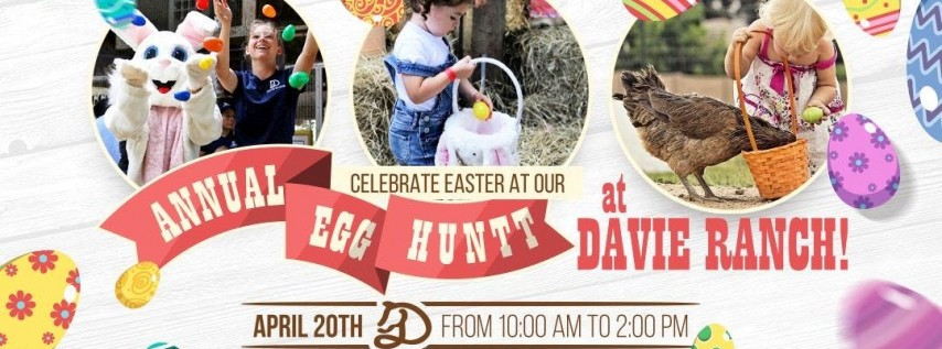 Davie Ranch Annual Easter Egg Hunt