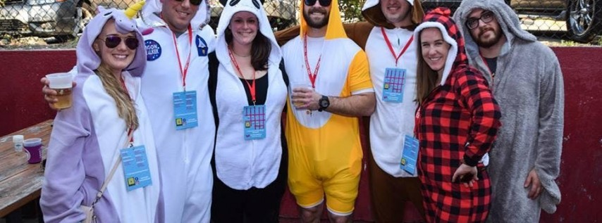 3rd Annual Onesie Bar Crawl: Asheville