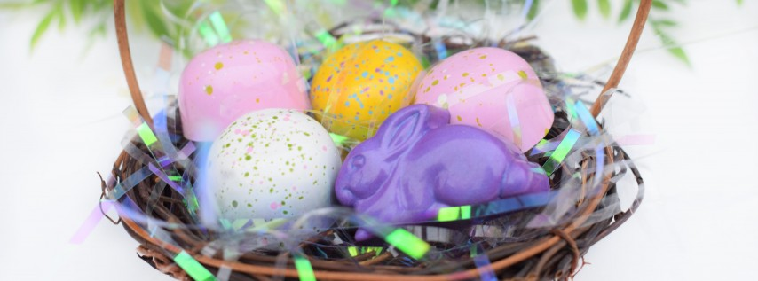 Easter Egg Decorating Party at Sucré Lakeside!