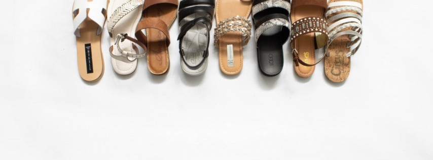 Warehouse Sale Pop-Up Shoe Store Grand Opening