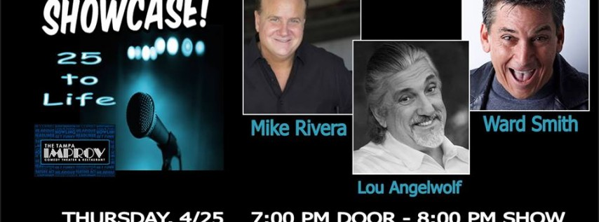 Lou Angelwolf in 25 to Life at The Tampa Improv
