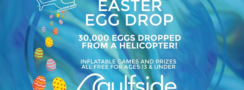 Easter Service and Egg Drop at Gulfside Church in NE Cape Coral
